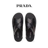 Prada/普拉达皮革凉鞋