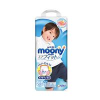 moony 尤妮佳 婴儿裤型纸尿裤 男 XXL26片 *3件
