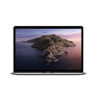 苹果2019新款MacBook Pro 13.3英寸苹果笔记本电脑2017/18款超薄笔记本 19款MUHN2CH/A-灰色-128G