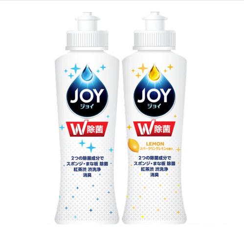 JOY 日本进口 超浓缩洗洁精超值套装170ml*2瓶(2种香型)除菌去油不伤手