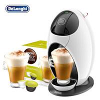 德龙(Delonghi)龙蛋 胶囊咖啡机 EDG250.W 雀巢多趣酷思(Dolce Gusto)卡布奇诺口味咖啡胶囊套装