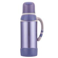 悠佳  鼎盛系列2L保温壶家用暖壶热水瓶 时尚彩色不锈钢保温瓶 ZS-9503-B *3件