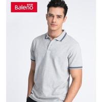 Baleno 班尼路 88801140 男士翻领t恤