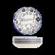 1日0点、61预告:顺祥 陶瓷日式印花碟 4件套 11.9元包邮(需用券)