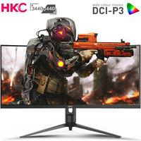 HKC 惠科 C349U 34寸 VA显示器(3440×1440、1500R、100Hz、)
