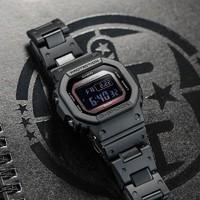 CASIO卡西欧手表男 G-SHOCK运动石英太阳能手表 GW-B5600BC-1BPR