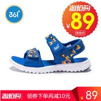 361童鞋男童运动凉鞋361度女童沙滩鞋2018夏季新款中大童儿童鞋子