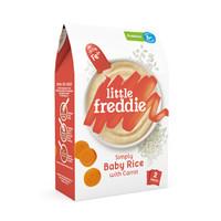 小皮Little Freddie 胡萝卜大米粉益生菌高铁米粉160g