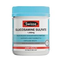 1日0点、61预告、88VIP:Swisse 瑞思 硫酸氨基葡萄糖胺片 180片 *3件