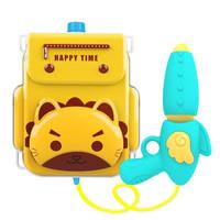 爆款夏季户外宝宝戏水玩具儿童高压喷水抽拉式背包水枪玩具