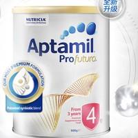 Aptamil 爱他美 白金版 儿童配方奶粉4段 900g *4件
