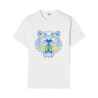 KENZO Tiger系列 男士休闲运动老虎印花短袖T恤