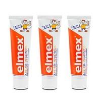 Elmex 儿童婴儿牙膏 50ml*3支