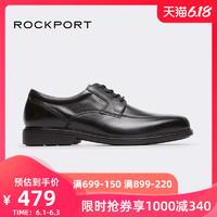 天猫Rockport/乐步皮鞋黑色男鞋商务正装德比鞋V82593,3双满减合422.33元每双 *3件