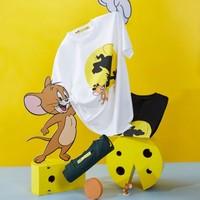 【情侣同款】2020夏季新品男士猫和老鼠系列卡通印花短袖T恤