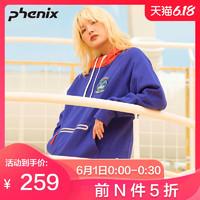 phenix菲尼克斯新品男女款抓絨套頭衫潮流衛衣PC952KT26 *20件
