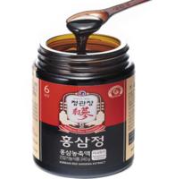 韓國進口 正官莊紅參人參膏人參禮盒 高麗參精濃縮液240g  人參皂苷rh2