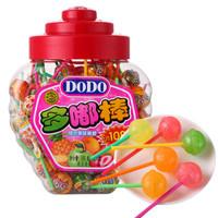 徐福記 DODO多嘟棒 綜合水果味棒棒糖 約108支 1026g *2件