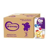 圣元优博布瑞弗尼3段幼儿奶粉配方液态奶/水奶(适合12-36月龄) 200ml*36支法国原装进口