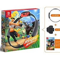 Nintendo 任天堂 健身环大冒险 主机游戏 *2件