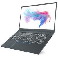 MSI 微星 Prestige 15 15.6英寸笔记本(i7-10710U、16GB、512GB、GTX1650 Max-Q、72%色域)