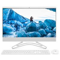 惠普(HP) 24-f010wcn 23.8英寸高性能娛樂商務 家用高效現代化辦公一體機電腦( Cel J4005 4GB 1TB 白)