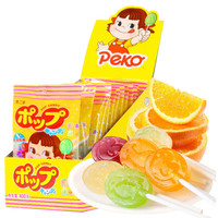 不二家 水果味棒棒糖  盒装 儿童零食 (25g*16袋) 400g *3件