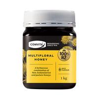 COMVITA/康维他  多花种蜂蜜  1kg/瓶*3件