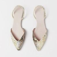 H&M 0717932 女士平底尖头单鞋