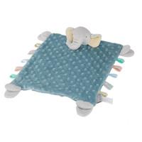 麦侬贝儿 安抚巾婴儿玩具口水巾毛绒玩具布艺安抚玩偶 *5件