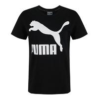 PUMA彪马女装新款跑步训练经典LOGO款圆领短袖T恤2PU57940661
