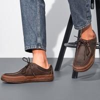 clarks 其乐 Un Lisbon Walk 男士系带休闲皮鞋