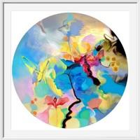 《蝶戀花》吳霜|泛太克美術紙|59.5 x 59.5 cm