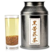 川盟    四川凉山荞麦茶全胚芽黑苦荞茶500克/罐 *3件