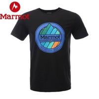 marmot 土拨鼠 H43425 男士短袖T恤 *4件