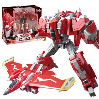 展高(JUMPGO)迷你特工队X玩具金刚变形机器人汽车男孩玩具儿童特工X机甲赛米8904六一儿童节礼物 *2件