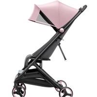 MITU 米兔 MTTC01BT 可折叠轻便四轮推车 粉色
