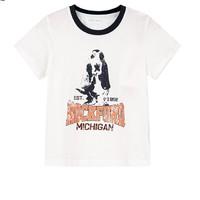 Hush Puppies 暇步士 儿童T恤圆领衫