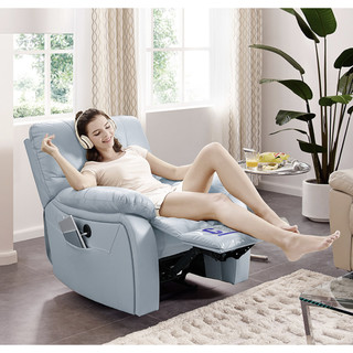 历史低价 : CHEERS 芝华仕 831BM 真皮电动单人位沙发