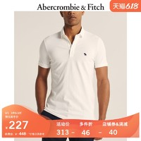 Abercrombie&Fitch男装 夏季潮流标识款短袖Polo衫 303322-1 AF