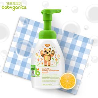 Babyganics 甘尼克宝贝 儿童泡沫免洗洗手液 柑橘香 250ml  *2件 +凑单品