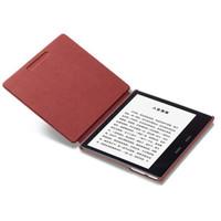 全新亚马逊kindle oasis 第三代尊享版 8G银灰色 电子书阅读器*梅乐红套装
