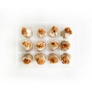 吉祥蛋黄烧麦720g(12只装 干蒸烧麦 点心 手工早餐速食) *9件