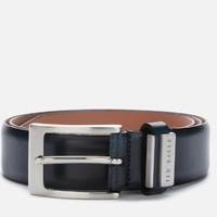 银联专享:TED BAKER 男士皮革针扣腰带