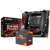 AMD R5 3400G 3600X搭微星B450I GAMING PLUS AC迷你主板CPU套装 R5 3400G套装