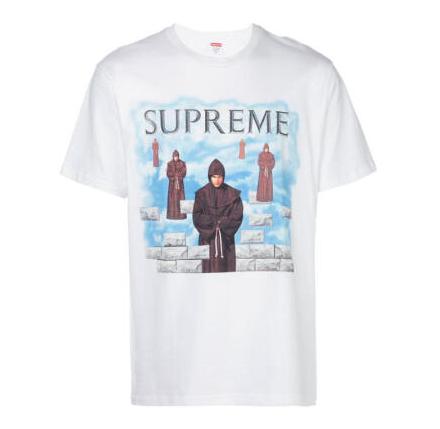 SUPREME SU7671 Levitation 印花T恤