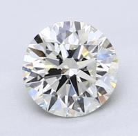 Blue Nile 1.11克拉圆形切割钻石