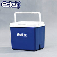愛斯基 ESKY 10L大容量戶外保溫箱冷藏箱包  贈6冰袋+巖谷卡式爐 +湊單品