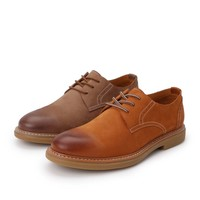 BeLLE 百丽 B3HA7BM9O 男士牛皮商务系带皮鞋