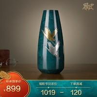 銅師傅 全銅擺件《銅師傅高岡銅器之壽賀》銅工藝品 家居飾品花瓶